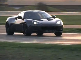 Lotus Evora S IPS driftuje i s automatem (video)