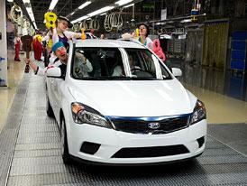 Kia vyrobila v Žilině už milion aut