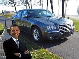 Obamův Chrysler 300C: Na prodej za milion dolarů