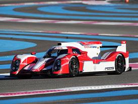 Toyota TS030 Hybrid: První test před Le Mans (+video)