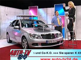 Mercedes-Benz třídy C hvězdou teleshoppingu v Německu (video)