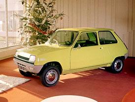 Renault 5 slaví čtyřicítku: Prohlédněte si galerii dobových fotografií