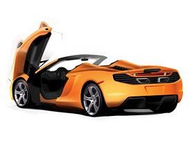 McLaren MP4-12C Spyder: S pevnou skládací střechou proti Ferrari 458 Spider