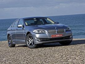 BMW ActiveHybrid 5: První jízdní dojmy