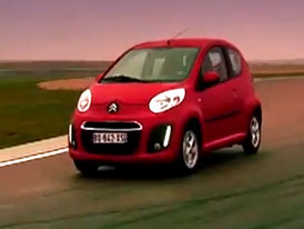 Video: Citroën C1 –  Městské mini na okruhu