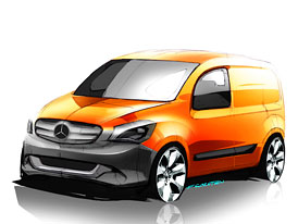 Mercedes-Benz Citan: Nov� kompaktn� dod�vka ofici�ln�