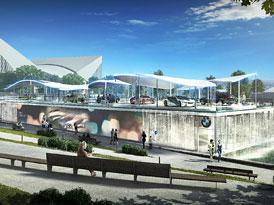 BMW: Design pro nový olympijský pavilon