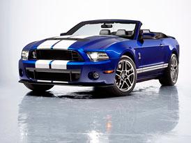 Ford Shelby GT500 Convertible: Rychlík bez střechy