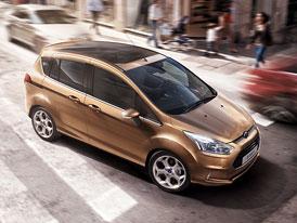 Ford B-Max se chlubí nejmenší spotřebou ve třídě