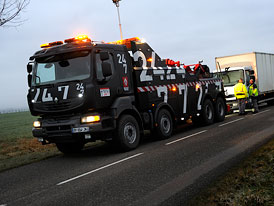 Renault Trucks: Havarijní speciál Kerax (video)