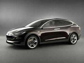 Tesla Model X: elektrický crossover odhalen