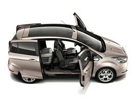 Ford B-Max: Malé MPV bez B-sloupku