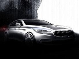 Kia K9: Velký sedan na oficiálních skicách