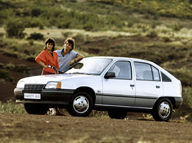 Opel Kadett má 50 let