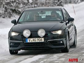 Spy Photos: Audi A3 téměř bez maskování