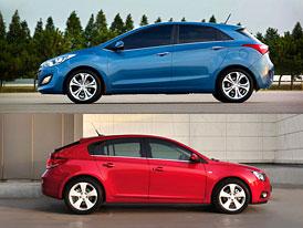 Hyundai i30 vs Chevrolet Cruze: Co koupit?
