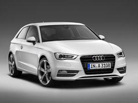 Audi A3: Třídveřový hatchback zatím neoficiálně