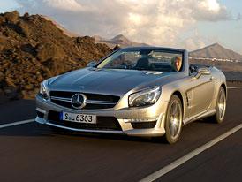 Mercedes-Benz SL 63 AMG: Nová generace představena při testech F1