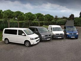 Volkswagen: Prodeje užitkových modelů za leden 2012