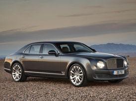 Bentley Mulsanne Mulliner: Ještě více luxusu