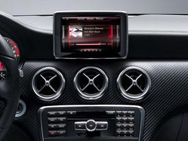 Mercedes-Benz třídy A: První fotografie interiéru