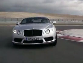 Video: Bentley Continental GT V8 na okruhu Navarra