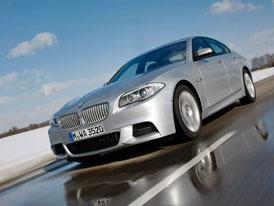 BMW M550d xDrive: Nové fotografie