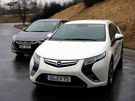 Opel Ampera vs. Hyundai i30: Český test spotřeby