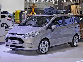 Ženeva živě: Způsobí Ford B-Max revoluci mezi malými MPV? (aktualizováno)