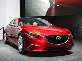 Ženeva živě: Mazda Takeri alias příští Mazda6 na vlastní oči