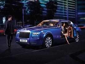 Ženeva živě: Rolls Royce Phantom Series II čili facelift pro aristokrata