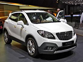 Ženeva živě: Opel Mokka poprvé na vlastní oči