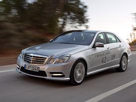 Ženeva živě: Mercedes E 300 BlueTec Hybrid je prý nejúspornější luxusní sedan