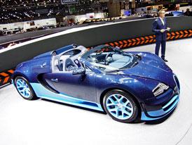 Ženeva živě: Bugatti Veyron Grand Sport Vitesse