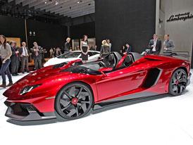 �eneva �iv�: Lamborghini Aventador J na vlastn� o�i (autosalonov� video)
