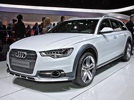 Ženeva živě: Audi A6 Allroad na vlastní oči