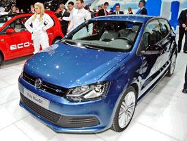 Ženeva živě: Volkswagen Polo BlueGT (opět aktualizováno)