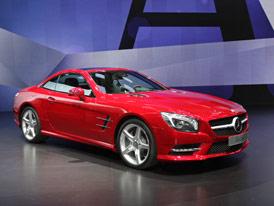 Ženeva živě: Mercedes-Benz SL na vlastní oči