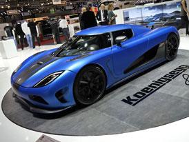 �eneva �iv�: Koenigsegg Agera m� vlo�ky v�lc� z nanomateri�lu