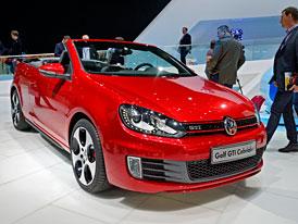�eneva �iv�: Volkswagen Golf GTI Cabrio na vlastn� o�i