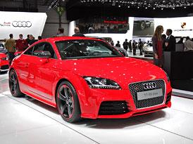 Ženeva živě: Audi TT RS plus je nejsilnější TT všech dob (autosalonové video)