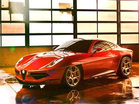 Ženeva živě: Carrozzeria Touring Superleggera Disco Volante 2012 s technikou Alfa Romeo
