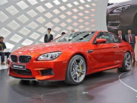 Ženeva živě: BMW M6 kupé na vlastní oči (autosalonové video)