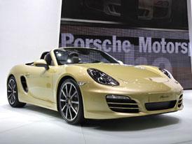 Ženeva živě: Porsche Boxster