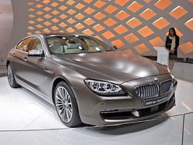 Ženeva živě: BMW 6 Gran Coupe na vlastní oči