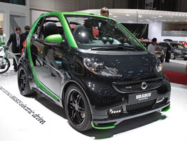 Smart Brabus Electric: Elektrick� zbojn�k