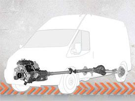 Ford Transit s motorem 3,5 EcoBoost V6 pro Severní Ameriku