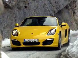 Walter R�hrl s nov�m Porsche Boxster S (video)