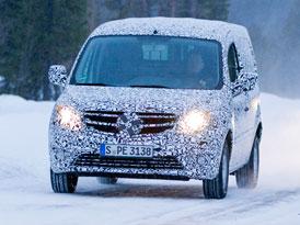 Mercedes-Benz Citan: První foto ze zimních testů