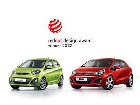 Kia Picanto a Rio: Úspěch v red dot design awards 2012